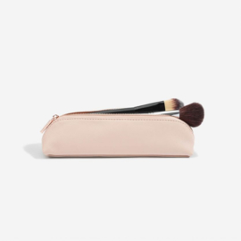 Brush case blush pink