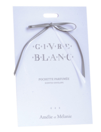Scented envelopes | Givre blanc