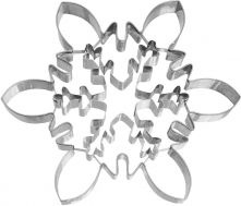 Cookie cutter ice crystal