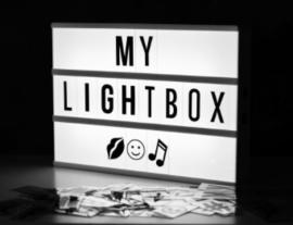 Light box A4 | black