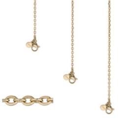 Ketting anchor chain | goud