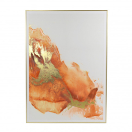 Canvas oranje goud