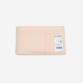 ID card case blush pink