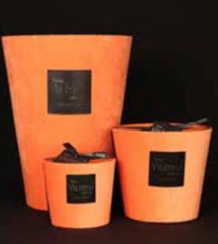 Geurkaars | velvet oranje