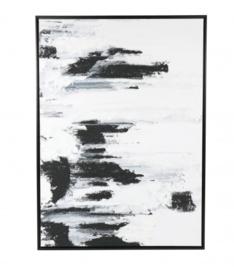 Canvas wit-zwart