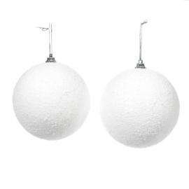 Sneeuwbal 4 stuks | wit