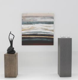 Schilderij abstracte zee