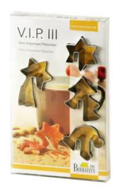 Cookie cutter set stars