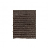 Badmat zacht katoen | basalt
