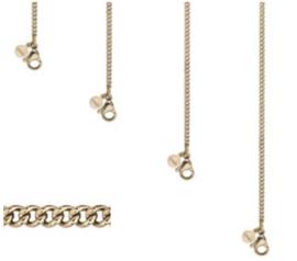 Ketting link chain | goud