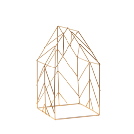Abstract house | goud