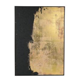 Canvas zwart-goud
