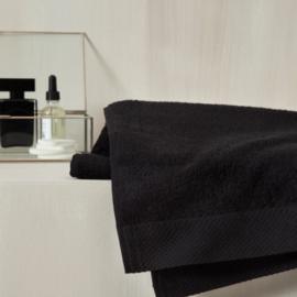 Badlinnen moderne afboording | black