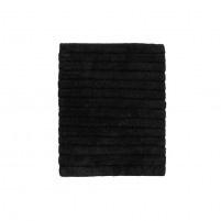 Badmat zacht katoen | black
