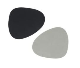 Glass mat curve double | cloud/nupo