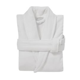 Badlinnen badjas | white