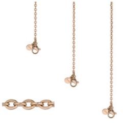 Ketting anchor chain | rosé goud