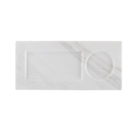 Marble tray | wit