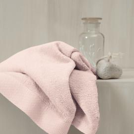 Badlinnen moderne afboording | pearl pink