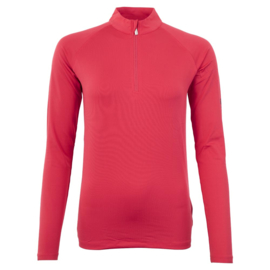 BR Event Pullover zip-up Raspberry Pink