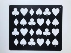 EKKIA Quartermarker met 24 speelkaarten designs