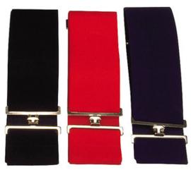 EKKIA Effen elastische dekensingel Zwart