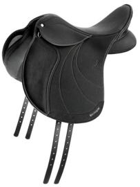 WINTEC LITE Standaard veelzijdigheidszadel pony Zwart