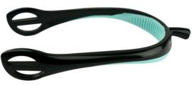 FEELING Felxi staafsporen Zwart/Lichtblauw