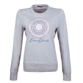 LG Sweater Elemento Lichtgrijs gemeleerd