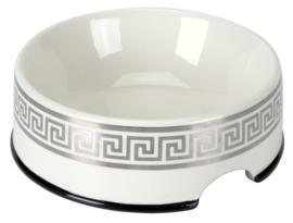 CHACCO Bowl Classic White/Silver + giftbox