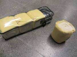 Elastische bandages met onderlap Lichtgeel