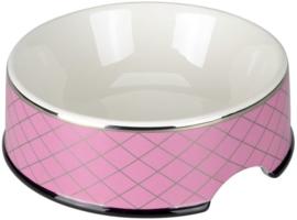 CHACCO Bowl Rhombus pink + giftbox
