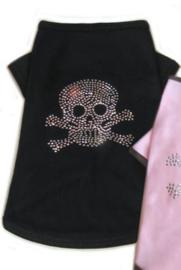 DIVA DOG - T-shirt Skull&Cross Black