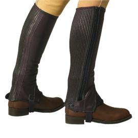 ERIC THOMAS Minichaps Leather Bruin
