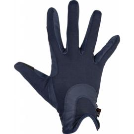 HKM Grip mesh handschoenen Donkerblauw