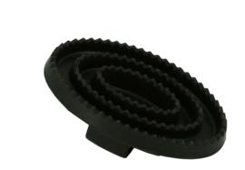 Ovale rubberen rosborstel