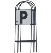 STUBBS Manegeletters R-V-P-S op standaard