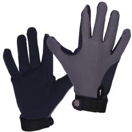 QHP Mesh handschoenen Grijs/Navy