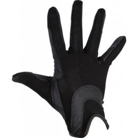 HKM Grip mesh handschoenen Zwart