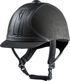 CHOPLIN Premium rijhelm Zwart/Zwart