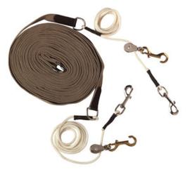 EKKIA - Lange teugels met pulley's