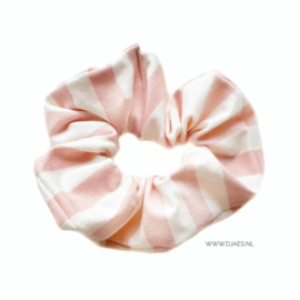 Vertical Pink Scrunchie