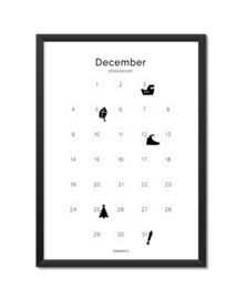 Aftelkalender november/december A4