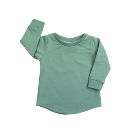Shirt | Chalk Green  | Handmade