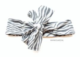 Zebra haarband
