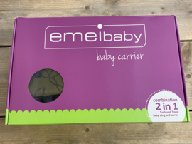 Emeibaby- Babycarrier 2 in 1 combinatie