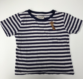 Sugarhill Boutique - Noah Mini Me Giraffe Charity Tee 4/5 jaar