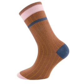 Ewers - Socken Rippe Toffee