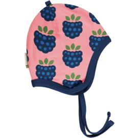 Maxomorra - Hat Helmet Velour Blackberry