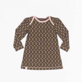 Alba - Gemma Baby Dress Wren Small Flower